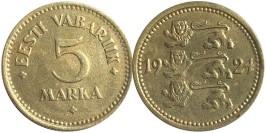 5 марок 1924 Эстония