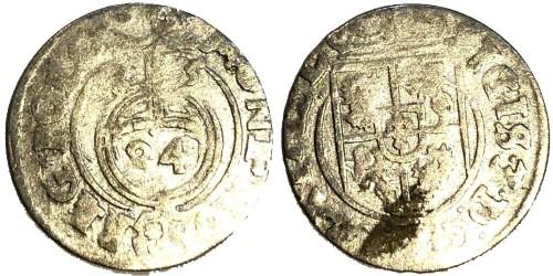 Полторак (1,5 гроша) 1625 Польша — Сигизмунд III — серебро №2