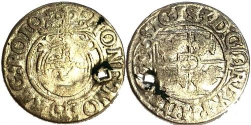 Полторак (1,5 гроша) 1620 Польша — Сигизмунд III — серебро