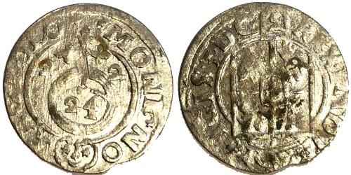 Полторак (1,5 гроша) 1622 Польша — Сигизмунд III — серебро №5
