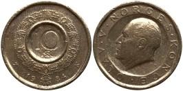 10 крон 1984 Норвегия