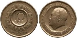 10 крон 1986 Норвегия