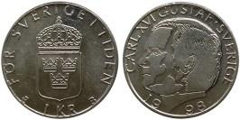 1 крона 1998 Швеция