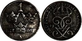 1 эре 1950 Швеция — железо