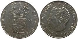 1 крона 1970 Швеция