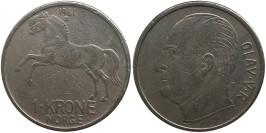 1 крона 1961 Норвегия