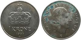 1 крона 1996 Норвегия