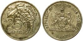 25 центов 1977 Тринидад и Тобаго — Чакония