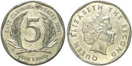 5 центов 2004 Восточные Карибы