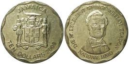 10 долларов 2008 Ямайка