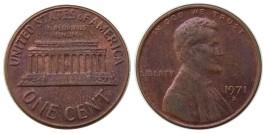 1 цент 1971 D США