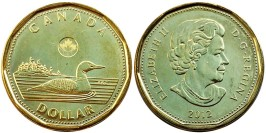 1 доллар 2012 Канада UNC