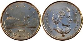 1 доллар 2006 Канада UNC