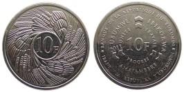 10 франков 2011 Бурунди UNC