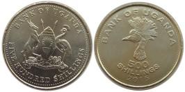 500 шиллингов 2015 Уганда UNC