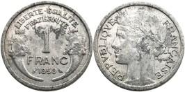 1 франк 1959 Франция