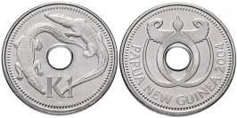 1 кина 2004 Папуа Новая Гвинея UNC