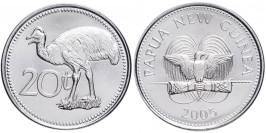 20 тойя 2005 Папуа Новая Гвинея — Казуар-мурук UNC