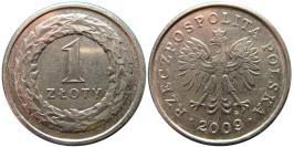 1 злотый 2008 Польша