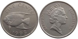 5 центов 1995 Бермуды