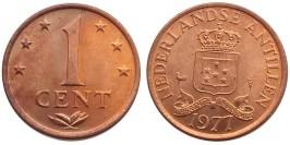 1 цент 1977 Нидерландские Антильские острова