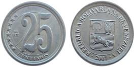 25 сентимо 2007 Венесуэла