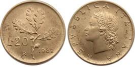 20 лир 1982 Италия