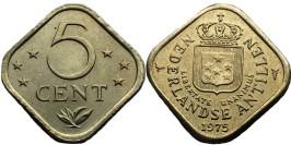 5 центов 1975 Нидерландские Антильские острова