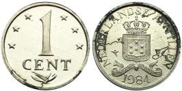 1 цент 1984 Нидерландские Антильские острова