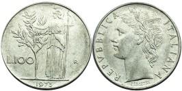 100 лир 1973 Италия