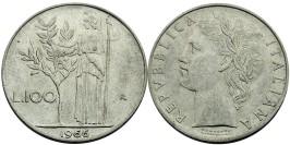 100 лир 1966 Италия
