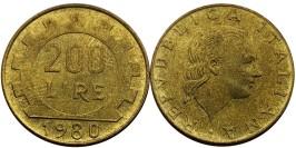 200 лир 1980 Италия