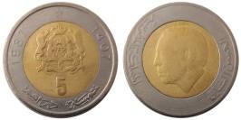 5 дирхамов 1987 Марокко