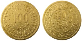 100 миллимов 1993 Тунис