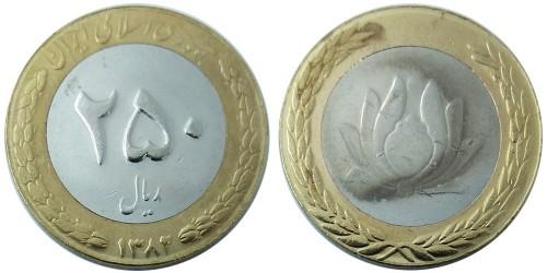 250 риалов 2003 Иран