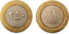 250 риалов 2002 Иран