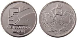 5 сентаво 1989 Бразилия UNC