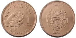 1 доллар 2008 Гайана UNC