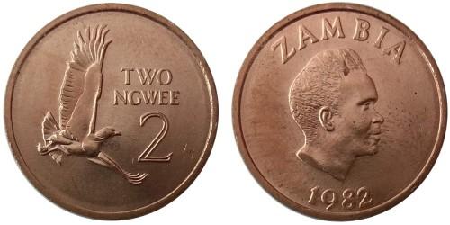 2 нгве 1982 Замбия