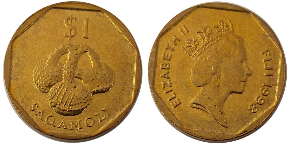 1 доллар 1998 Фиджи