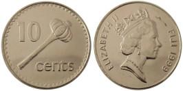 10 центов 1999 Фиджи UNC