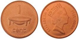 1 цент 2001 Фиджи
