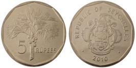5 рупий 2010 Сейшельские острова UNC — магнитная