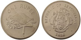 1 рупия 2010 Сейшельские острова UNC — не магнитная
