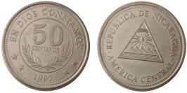 50 сентаво 1997 Никарагуа UNC