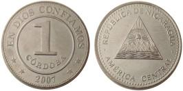 1 кордоба 2007 Никарагуа