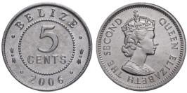5 центов 2006 Белиз