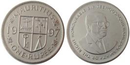1 рупия 1997 Маврикий UNC