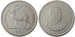 1/2 1997 Маврикий UNC