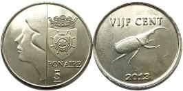 5 центов 2013 остров Бонайре